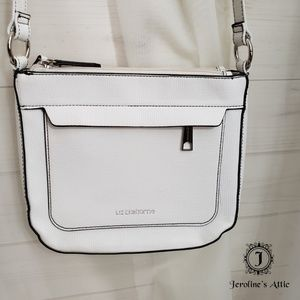 💥FINAL SALE Liz Claiborne White & Black Crossbody